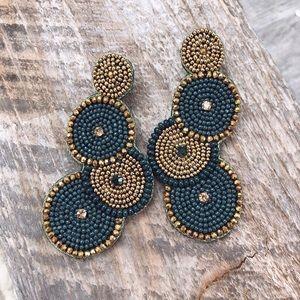Caro beaded earrings.
